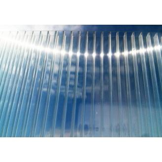 Полікарбонат стільниковий Greenhouse 6 мм 2,1х6 м прозорий