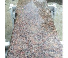 Столешница для кухни из Новоданиловского гранита Withered 600х20 мм