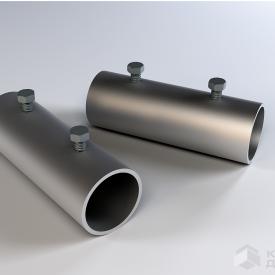 З'єднувач труби-снігозатримувача IVT 100x35 мм