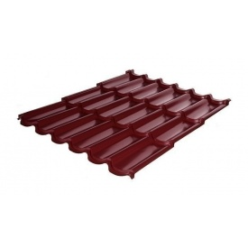 Металлочерепица RAUNI Premium 1180/1100 мм 0,45 мм Polyester SeAH Steel (Корея) RAL 3005