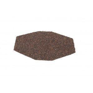 Заглушка конька треугольного QueenTile 170х140 мм brown