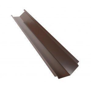 Планка ендовы глубокой QueenTile 2 м brown