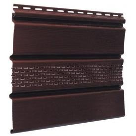 Софит Docke с перфорацией 305x3050 мм шоколад