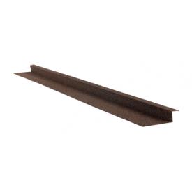 Планка бокового примыкания QueenTile 2 м brоwn