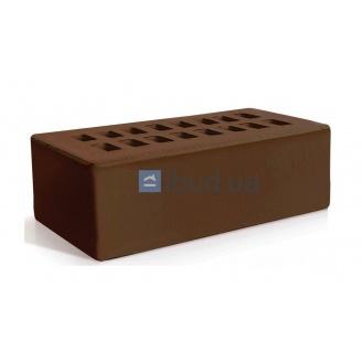 Кирпич лицевой Евротон английский формат 215х105х65 мм коричневый