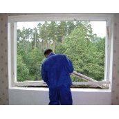 Установка металлопластикового окна