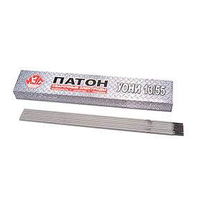 Электроды УОНИ-13/55 ПАТОН 5 мм 5 кг
