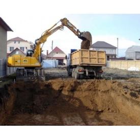 Копание подвала с вывозом грунта