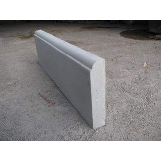 Бордюры 600х185х40 мм серый