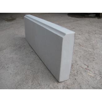 Бордюры тротуарный 600x210x50 мм серый