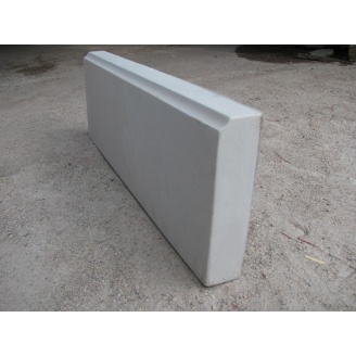 Поребрик тротуарний 600x210x50 мм сірий