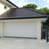 Ворота гаражные секционные Ryterna TLB slick доска RAL 9016 белый
