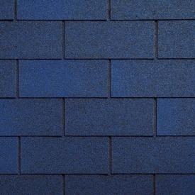 Битумная черепица Ruflex Tab 1000х333 мм синяя