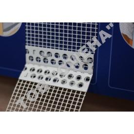 Профиль ПВХ для непрямых углов с сеткой Valmiera гибкий рулонный 10х10 см