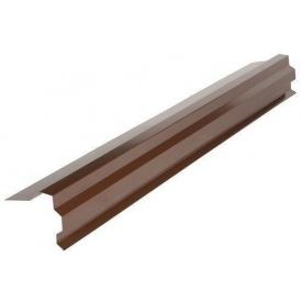 Планка торцевая №1 RAUNI 0,45 мм 2000 мм Polyester (Корея)