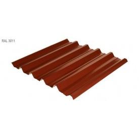 Профнастил Rauni HC-44 1055x0,45 мм Union Steel (Корея) RAL 3011