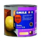Бейц алкидный SMILE SWP-11 WOOD PROTECT Elite 2,3 л черное дерево