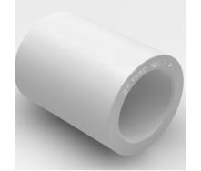 Муфта соединительная EVCI PLASTIK PP-R 40 мм