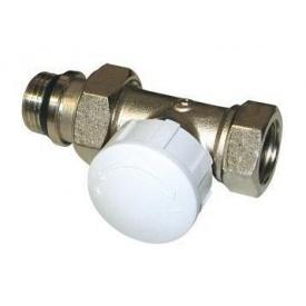 Клапан термостатический прямой IVR 566 никелированный