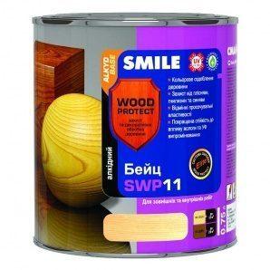 Бейц алкидный SMILE SWP-11 WOOD PROTECT Elite 0,75 л махагон