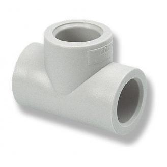 Тройник равный EVCI PLASTIK PP-R 20 мм