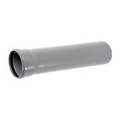 Труба ПВХ EVCI PLASTIK канализационная 50x1,5 мм 0,5 м
