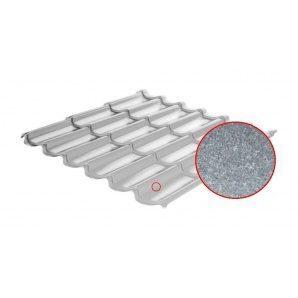 Металлочерепица RAUNI Standart 1180/1100 мм 0,45 мм AL-Zn Union Steel (Корея)