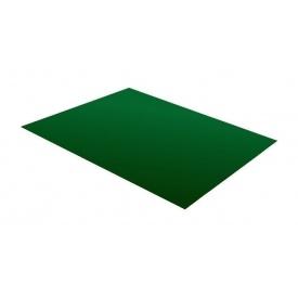Гладкий лист RAUNI 1250 мм 0,45 мм Polyester (Корея) RAL 6005