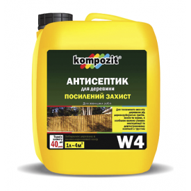 Антисептик для усиленной защиты Kompozit W4 5 л