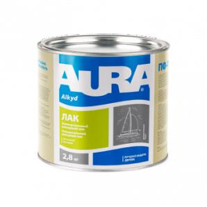 Лак яхтовий Aura A 0,8 кг напівматовий