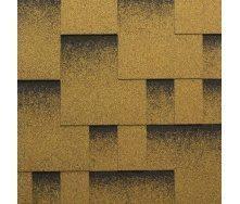 Гибкая черепица Katepal Rocky 1000х317 мм Золотой песок