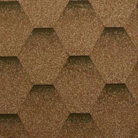 Гнучка черепиця Katepal Katrilli 1000х317 мм Золотий пісок
