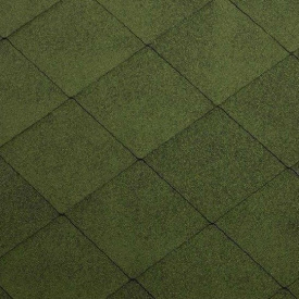 Гнучка черепиця Katepal Foxy 1000х317 мм зелена