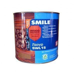 Лазурь SMILE SWL-15 WOOD PROTECT 2 л горіх