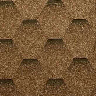Гибкая черепица Katepal Katrilli 1000х317 мм Золотой песок