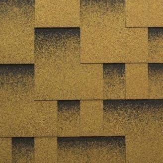 Гнучка черепиця Katepal Rocky 1000х317 мм Золотий пісок
