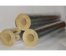 Циліндр базальтовий фольгований 80 кг/м3 159х100х1000 мм
