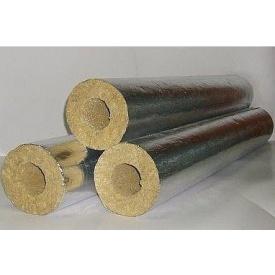 Цилиндр базальтовый фольгированный 80 кг/м3 325х100х1000 мм