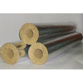 Цилиндр базальтовый фольгированный 80 кг/м3 159х100х1000 мм