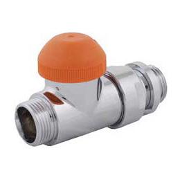 Клапан HERZ TS-Design прохідний G1/2-M22x1,5 білий (S763344)
