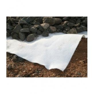 Геотекстиль иглопробивной 100 г/м2 белый