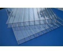 Полікарбонат стільниковий Greenhouse 4 мм 2,1х6 м прозорий