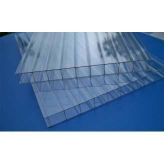 Поликарбонат сотовый Greenhouse 4 мм 2,1х6 м прозрачный