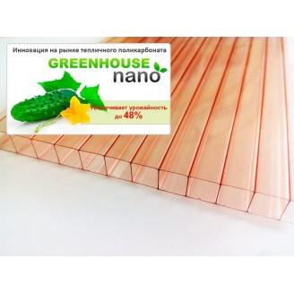 Полікарбонат теплиці Greenhouse Nano 8 мм 2,1х6 м