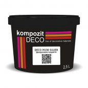 Декоративне покриття Kompozit DECO M130 2,5 л silver