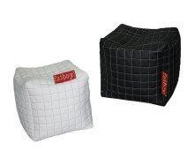 Кубик-пуфик SOFYNO 500х500х500 мм черный