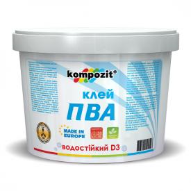 Клей Kompozit ПВА D3 1 кг