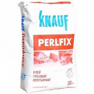 Гіпсовий Клей монтажний Knauf Perlfix 30 кг