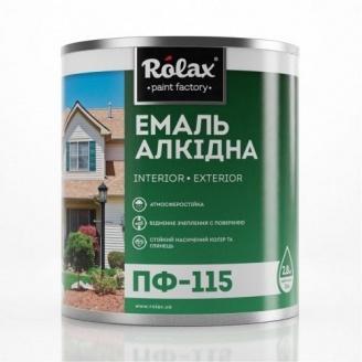 Фарба емалева Ролакс ПФ-115 2,8 кг зелена