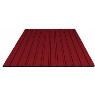 Профнастил 0,3 мм 1,5х0,95 м червоний
